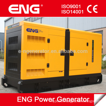 ENG 145kw generator set silent canopy for sale