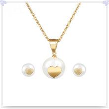Accesorios de moda joyería de joyería de acero inoxidable conjunto (js0043g)