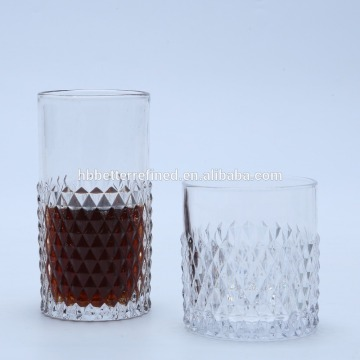 Tazza di vetro Hiball Diamond dal design unico