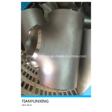 B16.9 Seamless Stainless Steel Reducer Tee