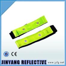 brazalete reflectante elástico reflectante de la pvc LED de China