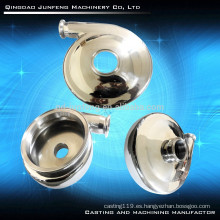 Cubierta de bomba personalizada de precisión de acero