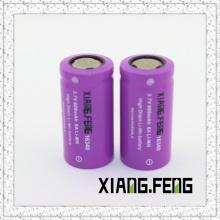 3.7V Xiangfeng 16340 600mAh 8A Batterie au lithium rechargeable Imr 16340 Batterie