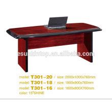 Secretaria diseño de escritorio de oficina, diseño personalizado venta de escritorio de oficina (T2040)