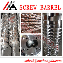 China manufacture extruder twin screw barrel/cylinder for plastic processing