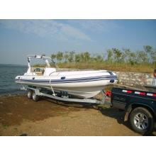 Bateau semi-rigide / bateau pneumatique rigide 2.7m-7.3m