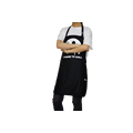 2017KEFEI приготовления фартук хлопок черный фартук раковины кухня