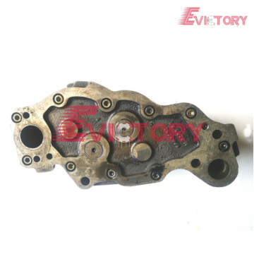 VOLVO parts D6E water pump D6E oil pump