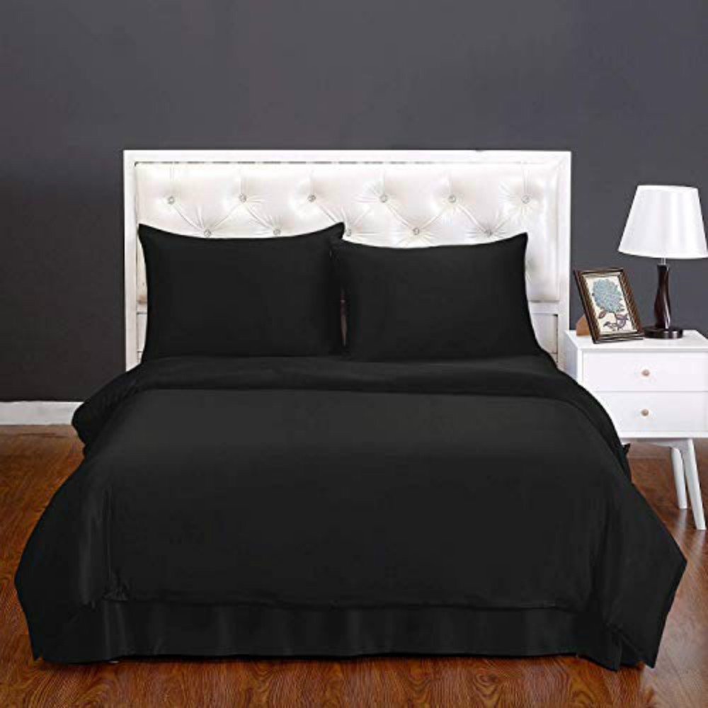 Black Bedding Set Full Size