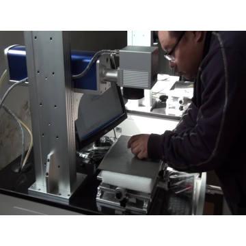 настольный лазер лазерная маркировочная машина лазерная гравировка металла