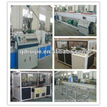 Alta calidad PVC pipa plástica máquina de extrudado