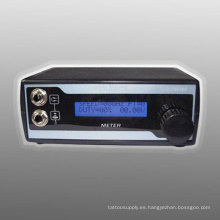 Fuente de alimentación negra de la máquina del tatuaje del negro de la pantalla LCD Display Hb1005-9