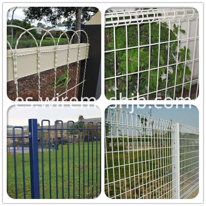 Pvc Coated Bow Top Fence