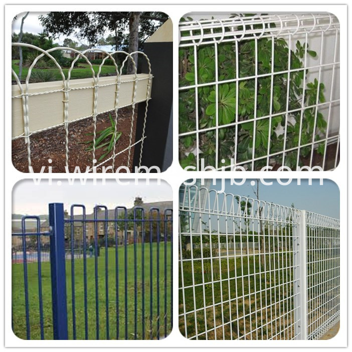 curved top fence