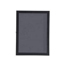 Black 23x32 wholesale Custom Acrylic Lockable football Jersey frame Display Case For Home Memorabilia Decor