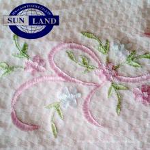 Tejido jacquard 60% algodón 40% poliéster textil