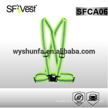 Chaussure réfléchissante de sécurité pour vêtements vis vis-à-vis avec bande adhésive 3M