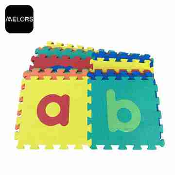 Melors Baby Play Gym Baskı Köpük Puzzle Mat