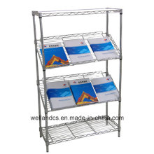 DIY Adjustable Office Metal Slanted Display Rack (SL9045180A4C)