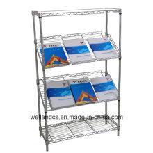 DIY escritório ajustável Metal Slanted Display Rack (SL9045180A4C)