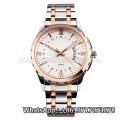 2016 nouvelle montre à quartz de style, montre en acier inoxydable de mode Hl-Bg-193
