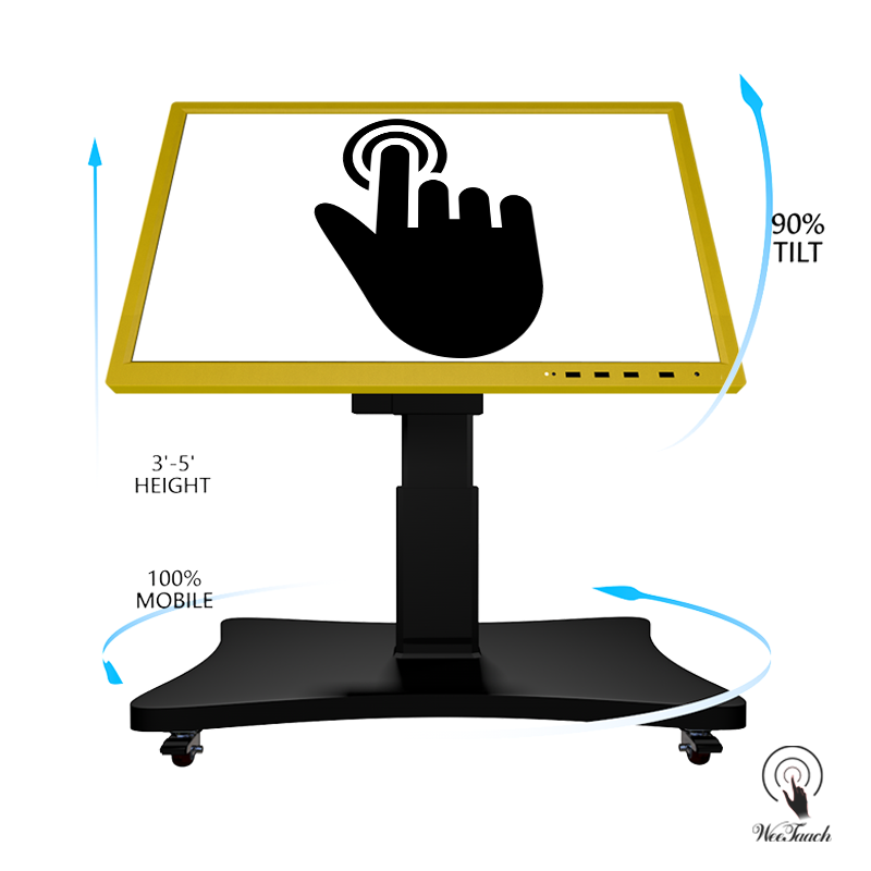 55 Inches Smart Whiteboard With Automatic Stand