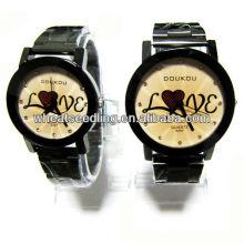 Ensemble de montres cadeau avec design amoureux pour les amoureux JW-41