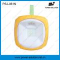 Linterna de emergencia solar portátil 2W con cargador de teléfono 5 en 1