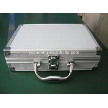 customized aluminium flashlight/torch case tool case storage case with sponge insert