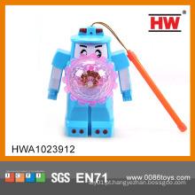 Robô engraçado do miúdo da venda quente com luz e música