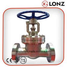ANSI em aço inoxidável flangeado válvula de portão de cunha