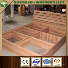 Wood Material Bed for Bedroom Furniture