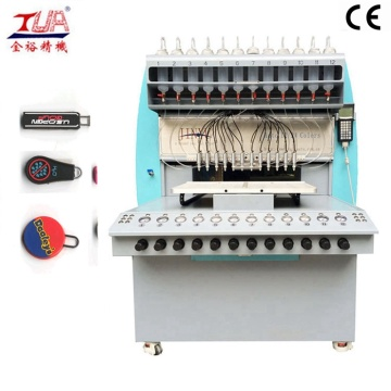 silicone rubber zipper puller making machine
