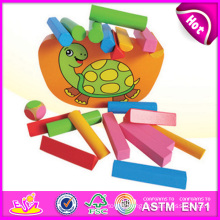 2015 New Wooden Block Set Balance Kid Toy Set, Colorful Lovely Balance Kid Toy Game, Hot Sale Cute Wooden Balance Kid Toy W11f038