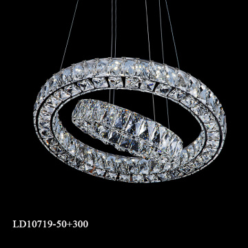 Factory outlet K9 crystal chandelier sia