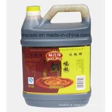 Molho de soja da alta qualidade 5lbs (1.79L) no cilindro