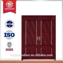 Eingangstüren aus Holz Doppeltür Design vorne doppelte Tür