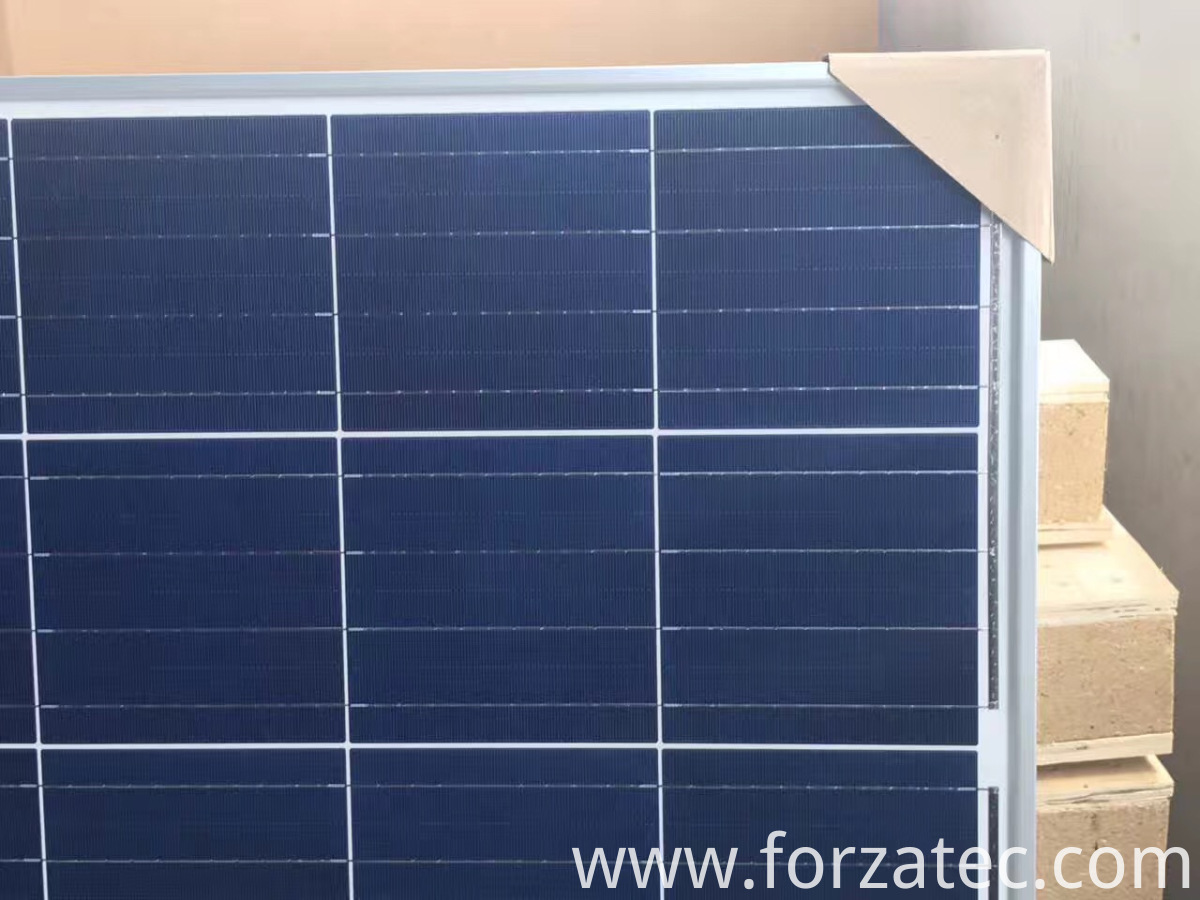 280W silicon poly PV panel