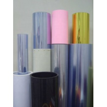 Colored rigid PVC for luggage case making