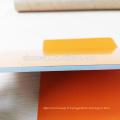 PVDF pe 4mm en aluminium panneau sandwich acp feuille revêtement de mur matériaux de construction