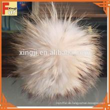 Großhandelswaschbär-Pelz Pompom für Hut