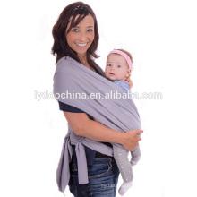 Porte-bébé de mode enveloppements bébé coton bio wrap carrier
