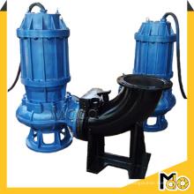 Pompe à eau souillée submersible avec accouplement
