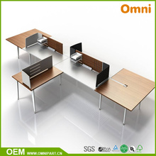Новый Стиль Четыре Офисной Мебелью Настольный Человеком