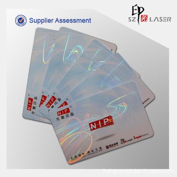 Hologram Id Card Overlay
