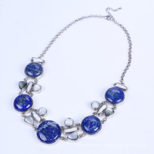 New Design Lapis Lazuli Alloy Necklace