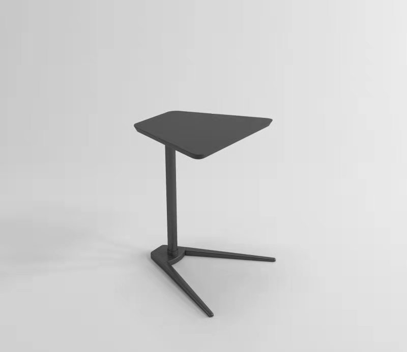 Black Laptop Cool Side Table