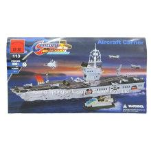 Ataque Série Designer Aircraft Carrier 990PCS Bloqueia Brinquedos