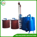 Continuous Bamboo Charcoal Carbonization Machine Stove Furnace Oven Kiln
