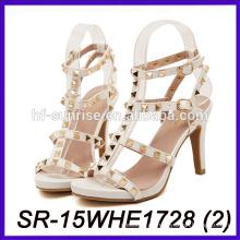 Zapato cambiable del alto talón zapato de vestido de la señora de los zapatos de las mujeres de China